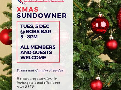 AKBCWA Christmas Sundowner - Tuesday,Dec 5 2017