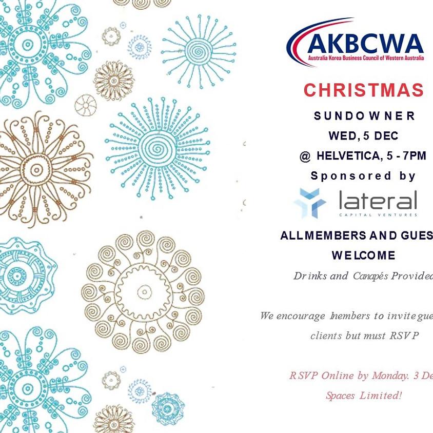 Invitation] AKBCWA XMAS Sundowner Party