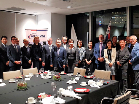 Leaders Dinner with Dr. Seung-soo Han (29 Sep 2017)
