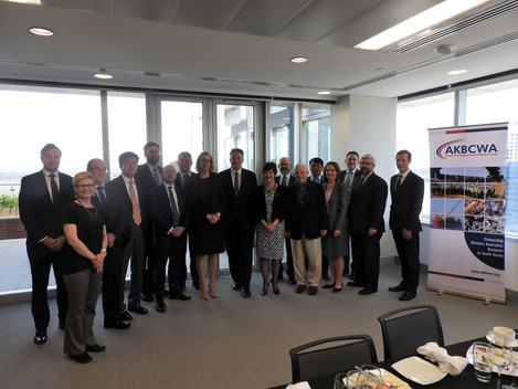 Leaders Lunch with Finance Minister Hon Mathias Cormann (08/11/2017)
