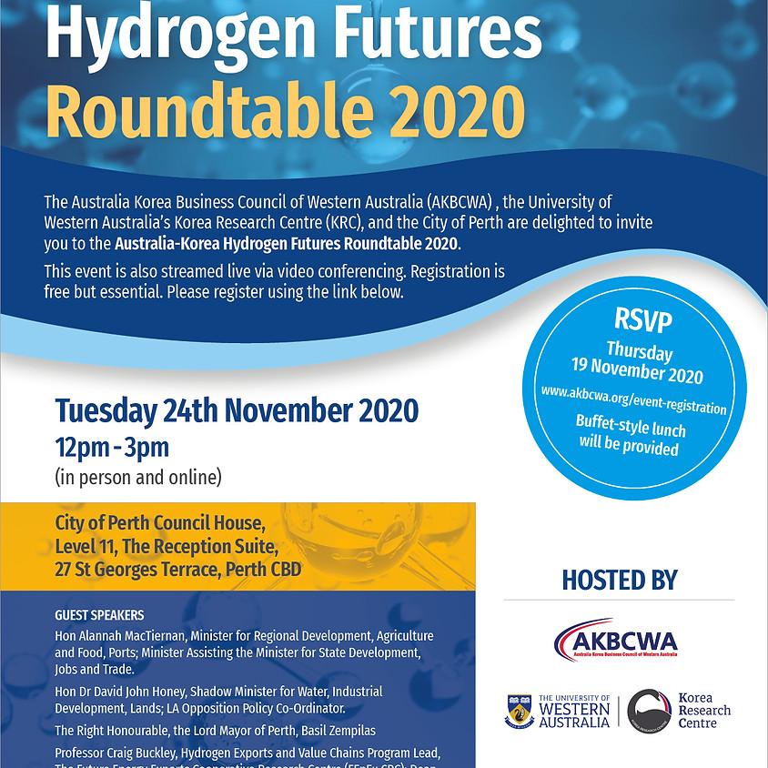 Australia-Korea Hydrogen Futures Roundtable 2020