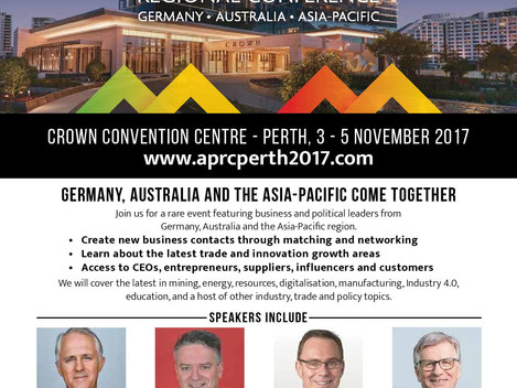 [Event Invitation] 2017 Asia - Pacific Regional Conference, 3 - 5 Nov 2017