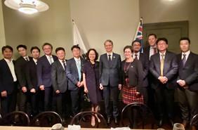 [Photos] AKBCWA Event with H.E. Mr Jeong-Sik Kang, Ambassador of the Republic of Korea