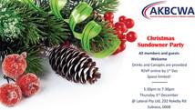Invitation] AKBCWA Christmas Sundowner- Thu 3rd December