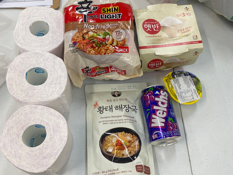 The AKBCWA distributed 96 home essential packages to Korean international students in Perth