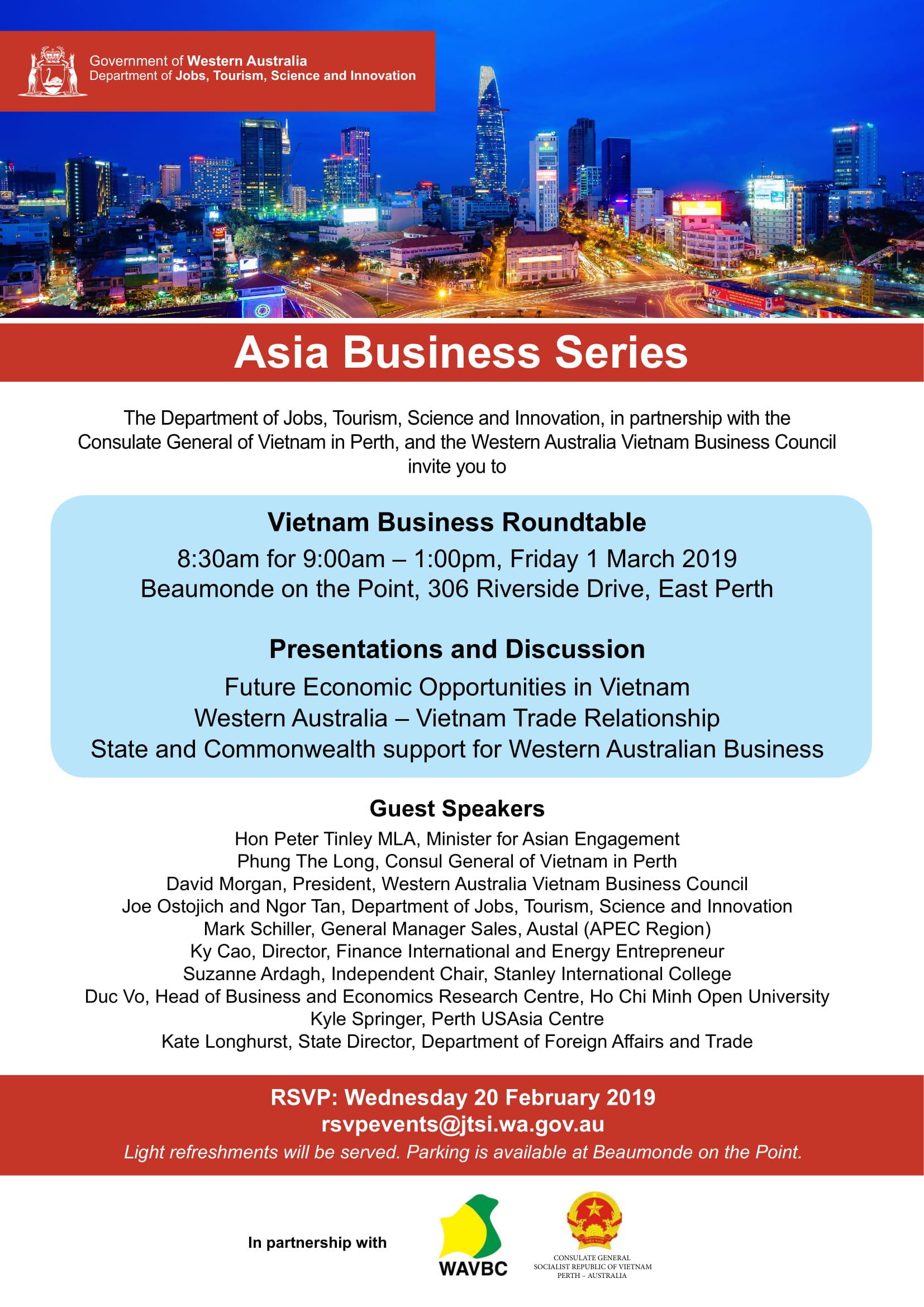 Council Asian business