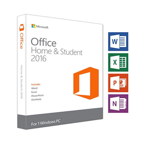 MICROSOFT OFFICE 2016 HOME AND STUDENT PC ONLY