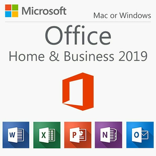 MICROSOFT OFFICE 2019 HOME AND BUSINESS PC/MAC