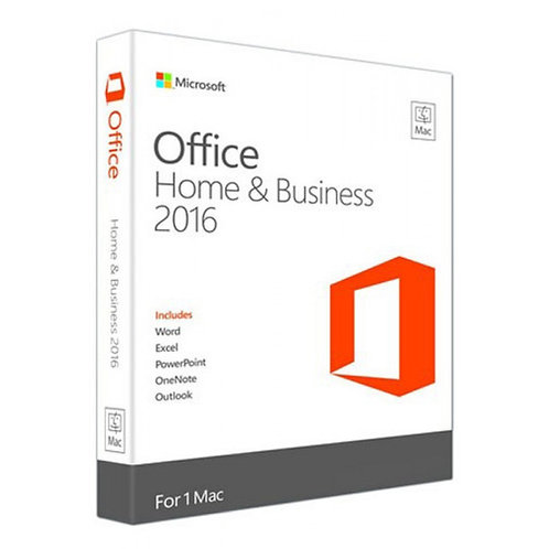 MICROSOFT OFFICE 2016 HOME AND BUSINESS MAC ONLY