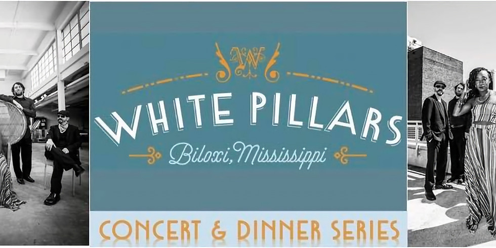 White Pillars Presents: a Concert and Dinner Series with Symone French & the Trouille Troupe