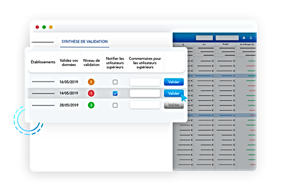 visualiser validation rapports de gestion