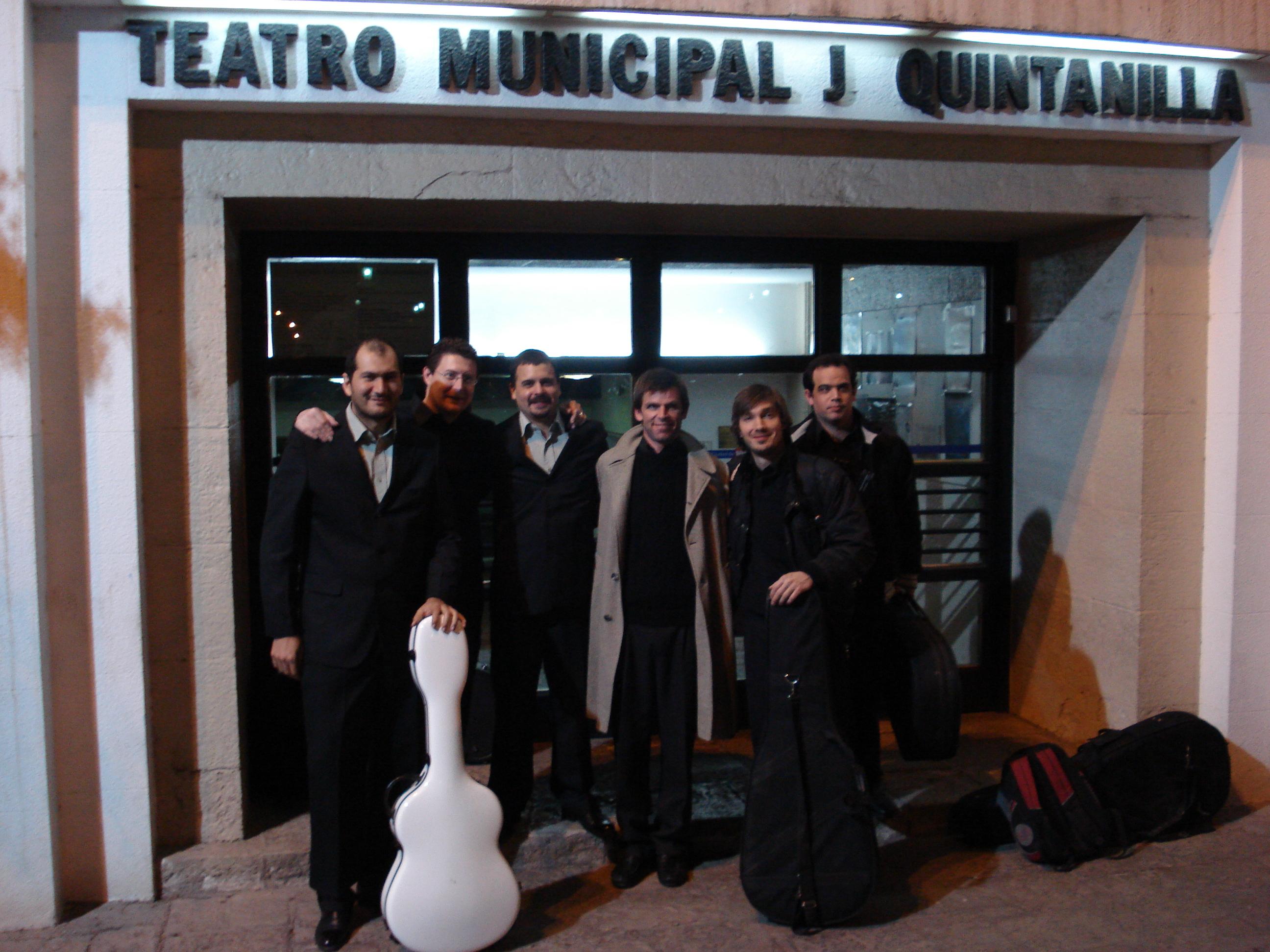 Con nuestros amigos del Dúo Tucumán