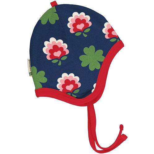 Maxomorra Clover Velour Lined Helmet Hat