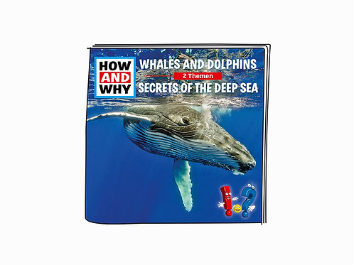 Tonies How and Why Character : Whales and Dolphins / Secrets of the Deep Sea