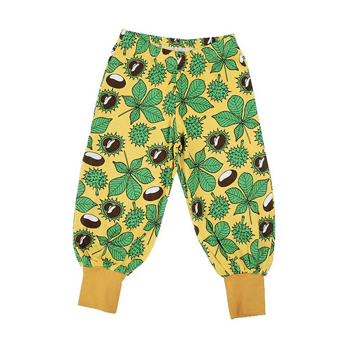 Duns Chestnut Daffodil Yellow Baggy Pants