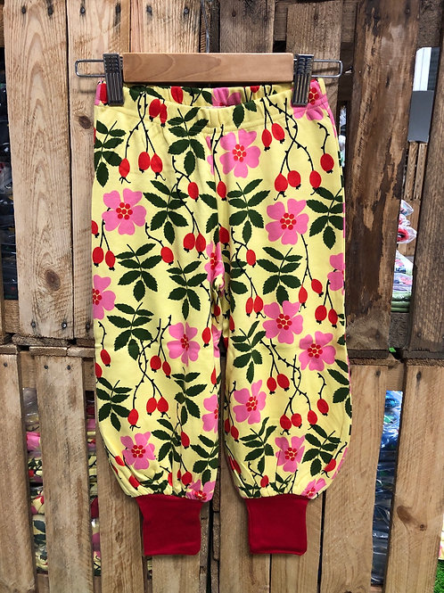 Duns Rosehip Yellow Baggy Pants