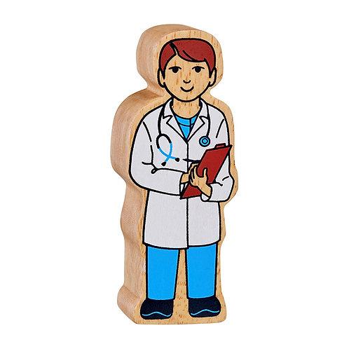 Lanka Kade Natural white and blue doctor