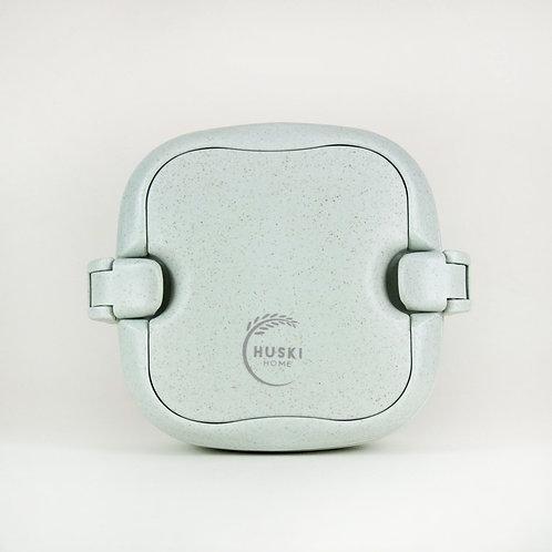 Huski Home Multi-compartment lunch box in duck egg