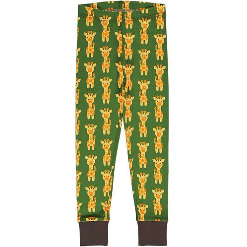 Maxomorra Giraffe Cuffed Leggings