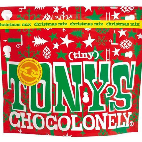 Tonys Chocolonely Tiny Tony's Christmas Mix Pouch 180g