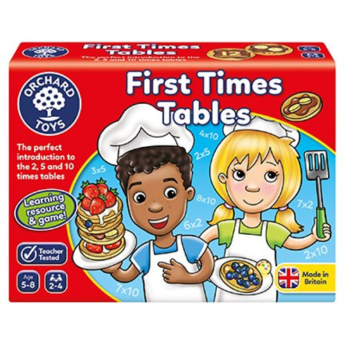 First Times Tables Orchard toys