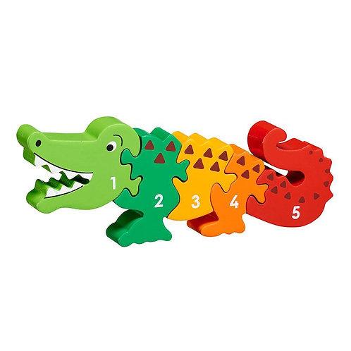 Lanka Kade Colourful Crocodile 1-5 Jigsaw