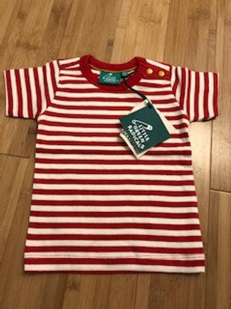 Little Green Radicals Striped t-shirt