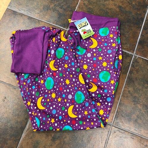 Duns Mother Earth Adult Baggy Pants Violet
