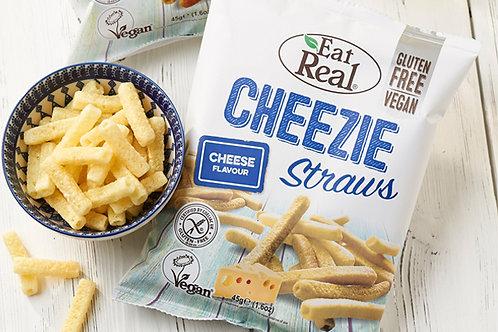 Eat Real Potato Cheezie Straws 45g