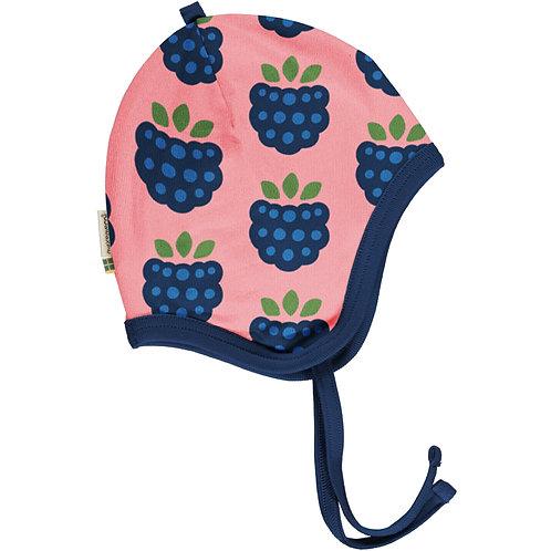 Maxomorra Blackberry velour Helmet Hat