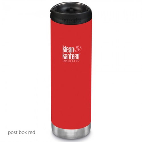 Klean Kanteen Insulated TKWide 20oz (592ml) Post Box Red