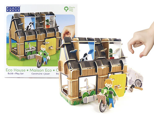 Play Press House Eco Friendly Toy Playset