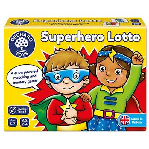 Super Hero Lotto Orchard Toys