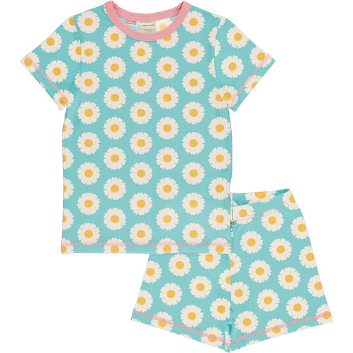 Maxomorra Daisy Short Pyjama set