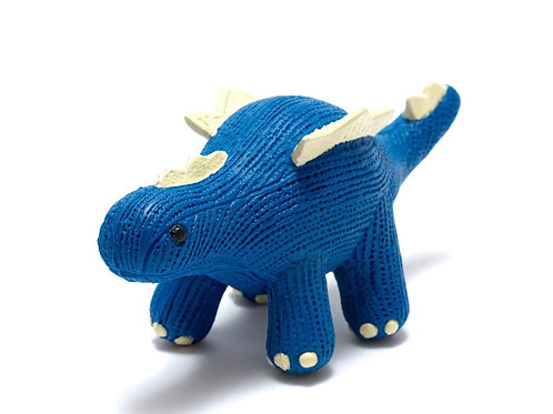 My First Natural Rubber Stegosaurus Teether