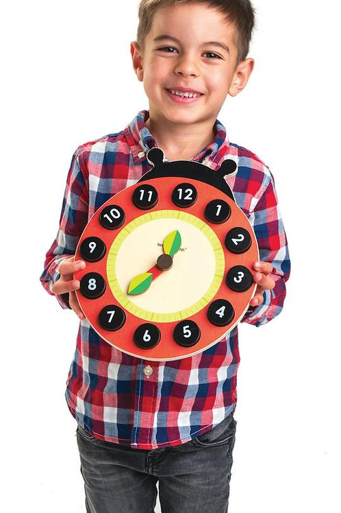 Tender Leaf Ladybird Teaching Clock
