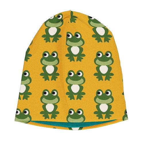 Maxomorra Frog Velour Lined Hat