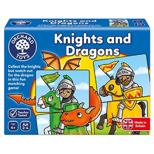 Knights & Dragons Orchard Toys