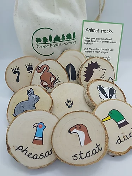 Green Earth Learning Animal Tracks
