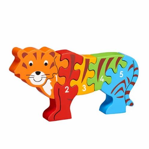 Lanka Kade Colourful Tiger 1-5 Jigsaw