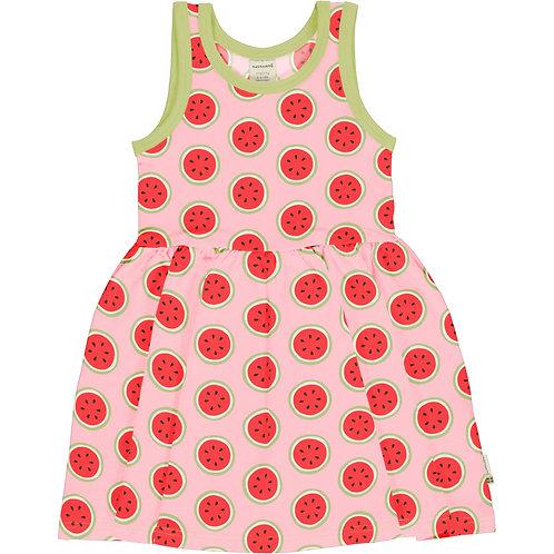 Maxomorra Watermelon Sleeveless Spin Dress