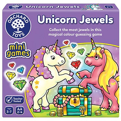Orchard Toys Unicorn Jewels Mini Game