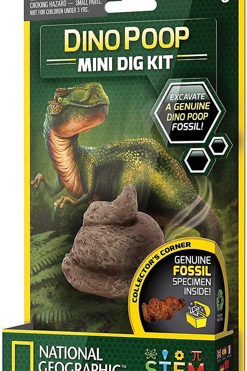 National Geographic Dino Poop Mini Dig Kit
