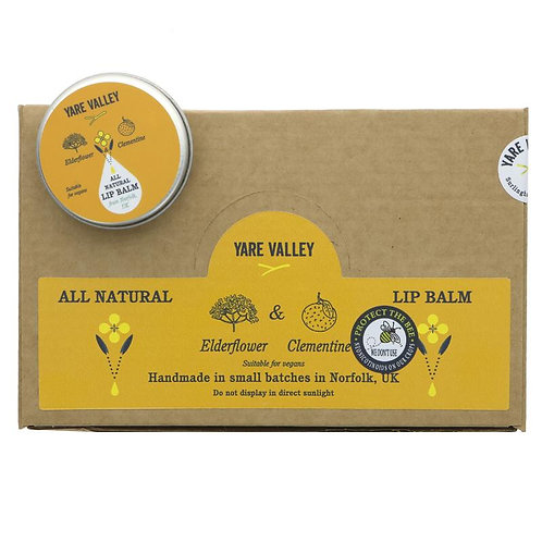 Yare Valley Natural Lip Balm 15g tin