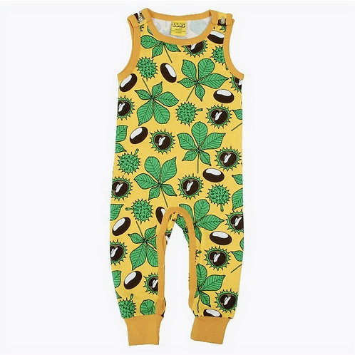 Duns Chestnut Daffodil Yellow Dungarees