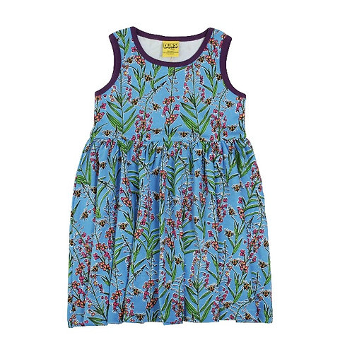 Duns Willowherb Sleeveless twirl/gather dress