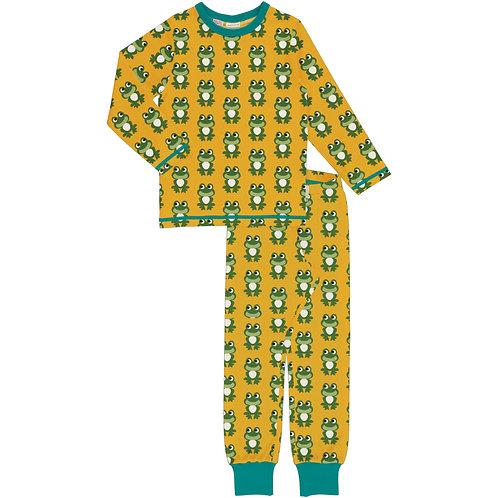 Maxomorra Frog Pyjama set