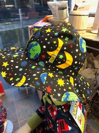 Duns Mother Earth Black Sun Hat