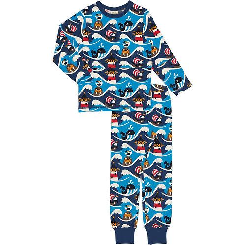 Maxomorra Ocean Pyjama set