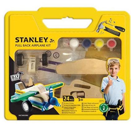 Stanley Junior Pull Back Airplane Kit
